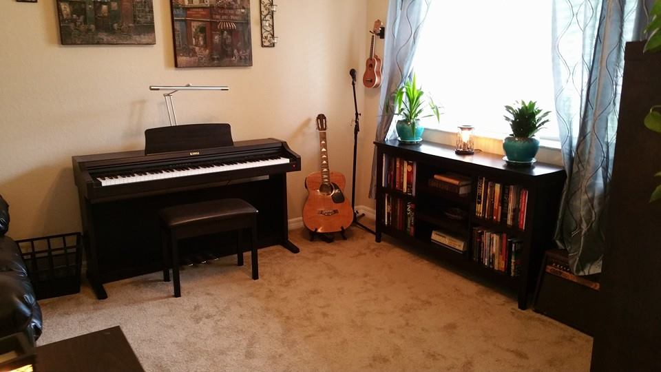 My Preivous Studio before moving to Johnson City TN - Piano Lessons Studio